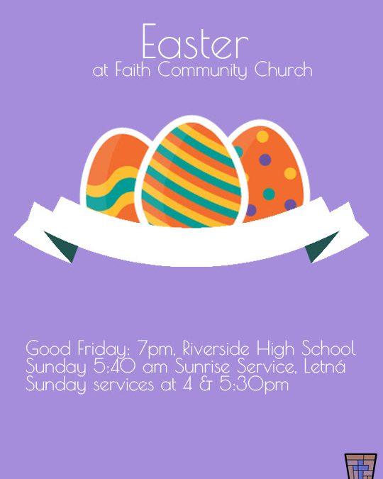 Easter weekend worship